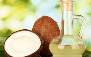 coconut oil and garlic for yeast infection
